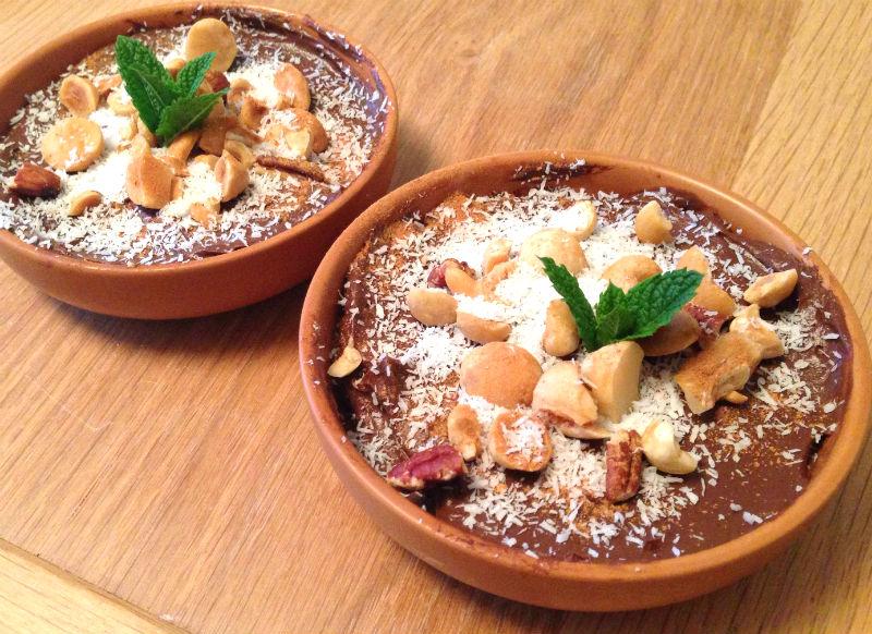 recept voor rauwe chocolademousse van avocado